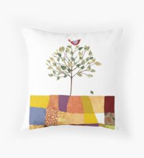 4 Season Series - Spring Throw Pillow