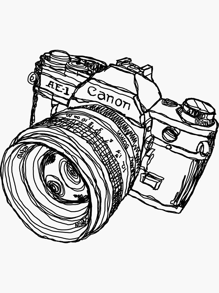 Classic SLR Camera by strayfoto