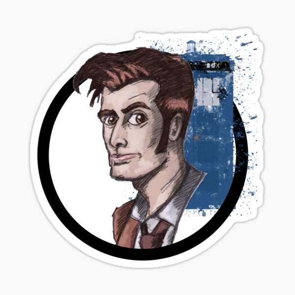 Tenth Lord of Time Sticker