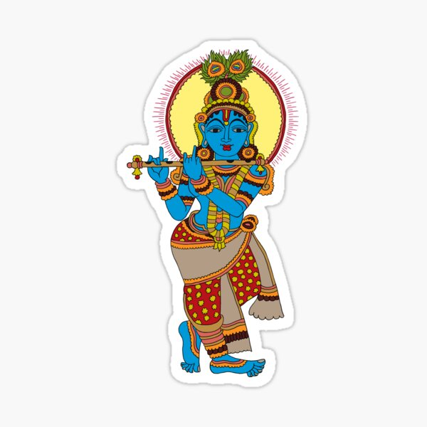 Krishna Sticker Photo