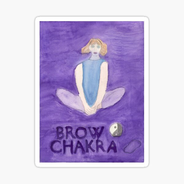 The Butterfly The Brow Chakra Sticker