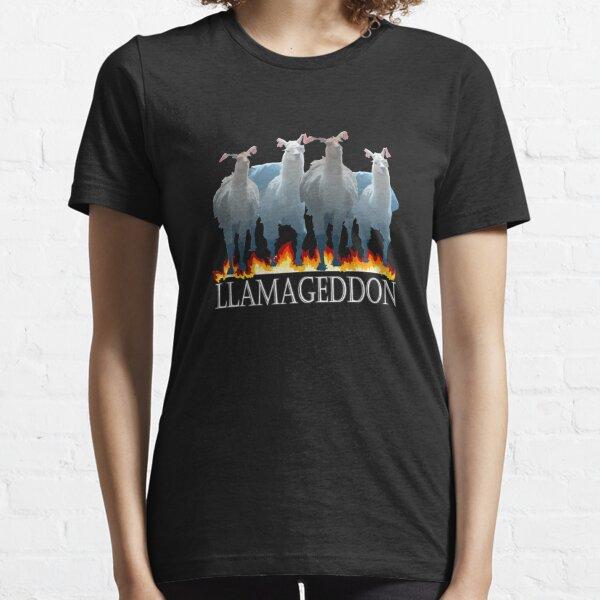 Top Fun Llamageddon Lamma Lover Gift Design Essential T-Shirt