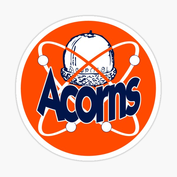 Kecksburg Acorns Sticker