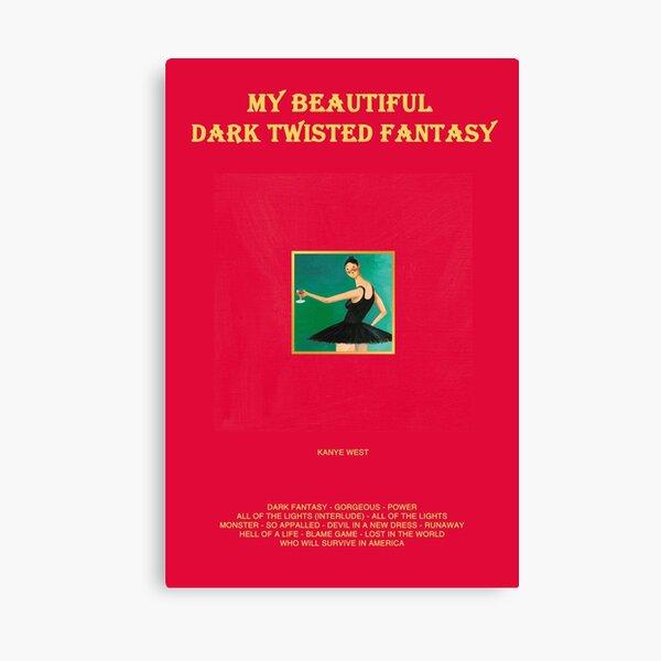 My Beautiful Dark Twisted Fantasy Canvas Print