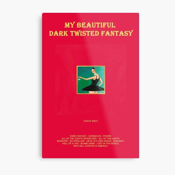 My Beautiful Dark Twisted Fantasy Metal Print