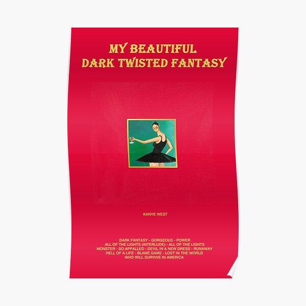 My Beautiful Dark Twisted Fantasy Poster