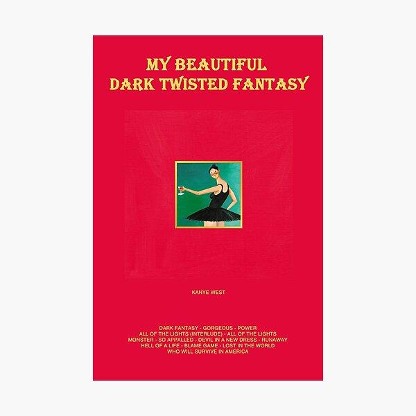 Meine schöne dunkle verdrehte Fantasie Fotodruck