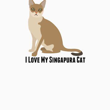 I Love My Singapura Cat by rodie9cooper6