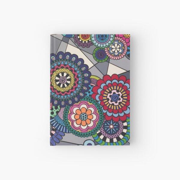 Mandalas In Bloom Hardcover Journal