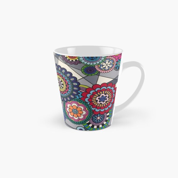 Mandalas In Bloom Tall Mug