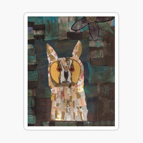 Long Eared Owl Sticker