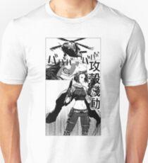 Camiseta unisex Fantasma en el manga de la concha