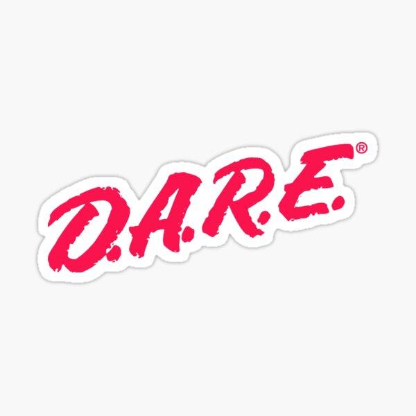 D.A.R.E t-shirt Sticker