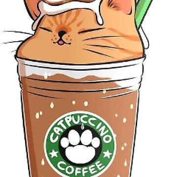 Catpuccino-Kaffee von erinaugusta