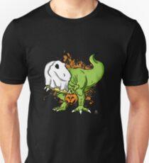 Funny tyrnanosaurus halloween gift Unisex T-Shirt