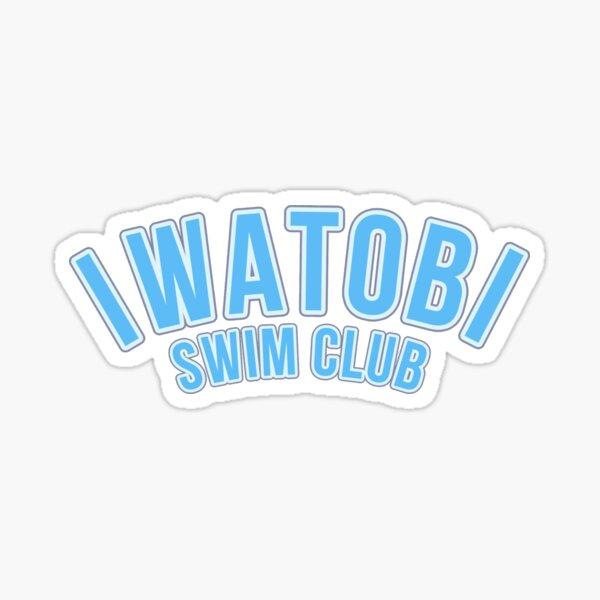 Iwatobi Swim Club - Plain 1 Pegatina