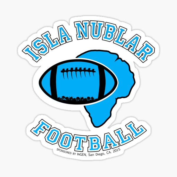 ISLA NUBLAR FOOTBALL Sticker