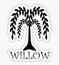 willow tree Sticker