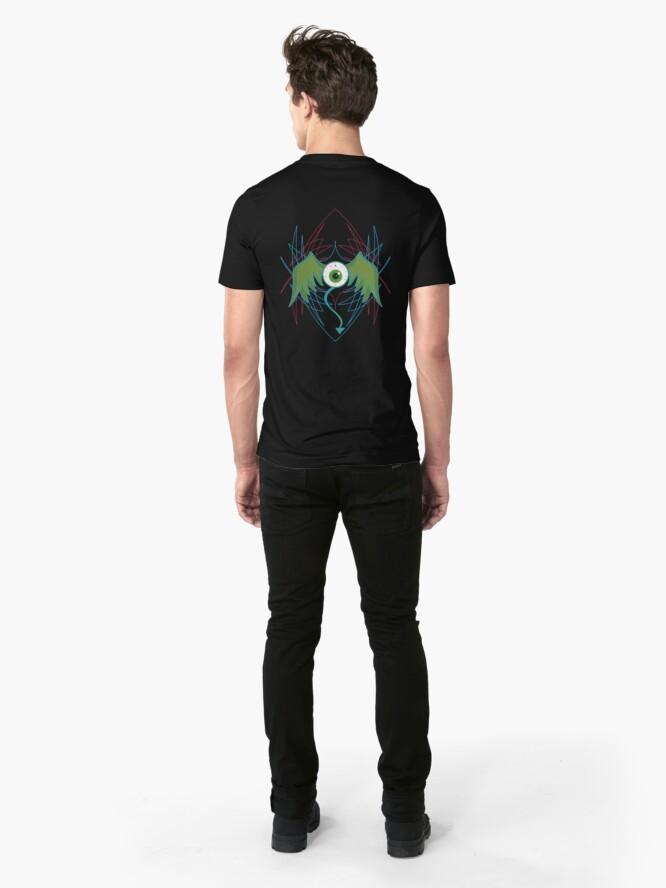 Alternate view of Flying eye Slim Fit T-Shirt
