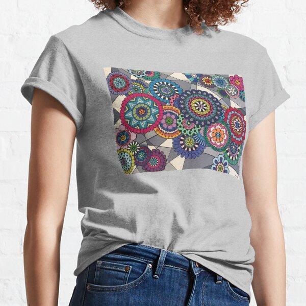 Mandalas In Bloom Classic T-Shirt