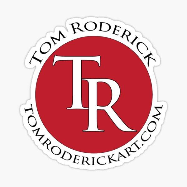 tomroderickart.com Sticker