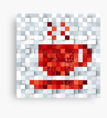 Pixel Brew Canvas Print