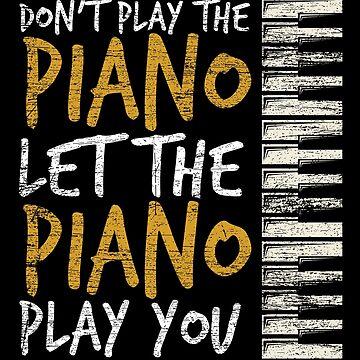 Piano musical instrument by GeschenkIdee
