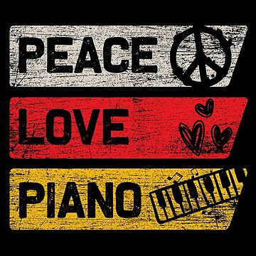 Piano peace by GeschenkIdee
