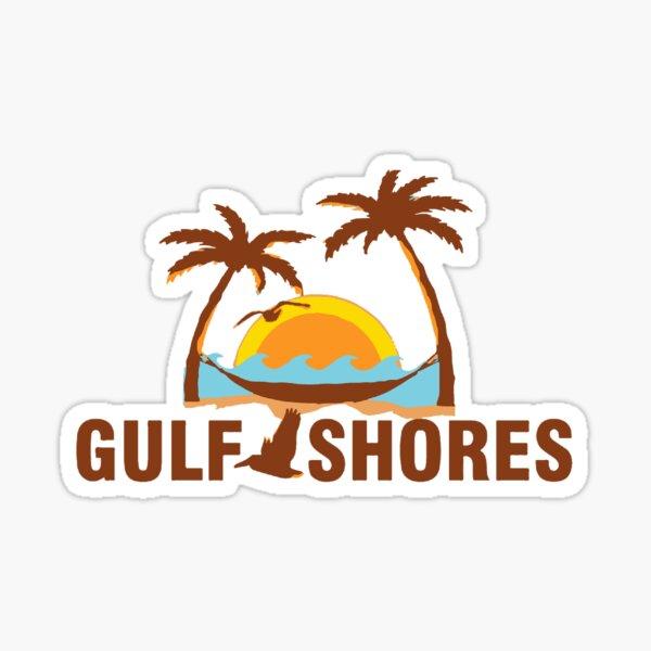 Gulf Shores - Alabama Sticker