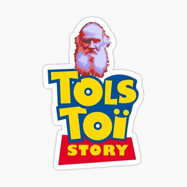Histoire de Tolstoi Sticker