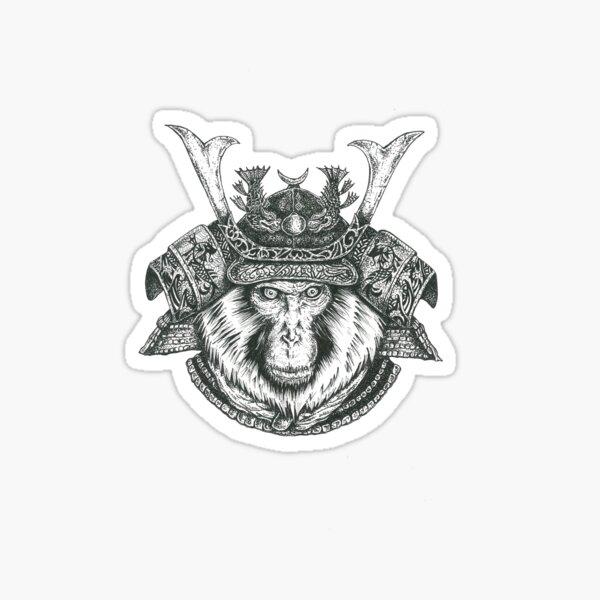 Snow Monkey Ronin Sticker