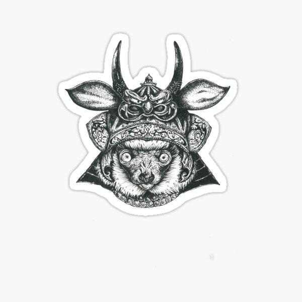 Lemur Ronin Sticker