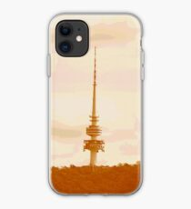 mountain tower iPhone Case