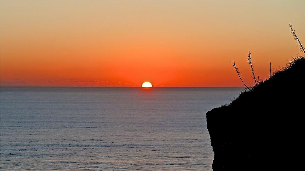 Beachy Head Sunset by John Thurgood