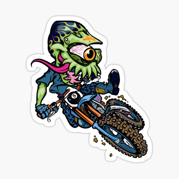 MX Monster Sticker