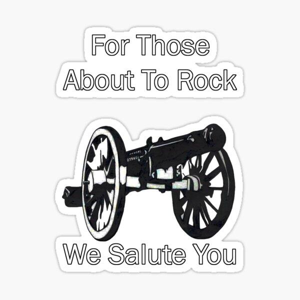 AC / DC pour ceux sur le point de Rock Sticker