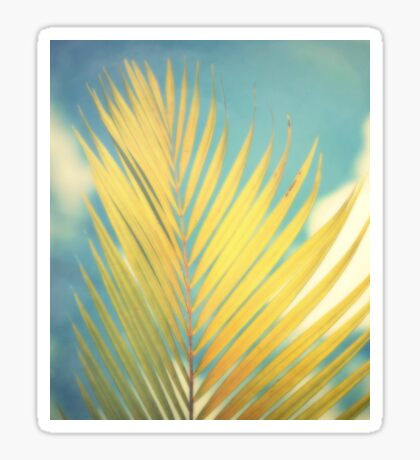 Palm Softness Sticker