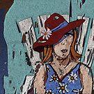 Door County Woman by Alma Lee