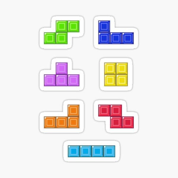 Tetriminos Sticker