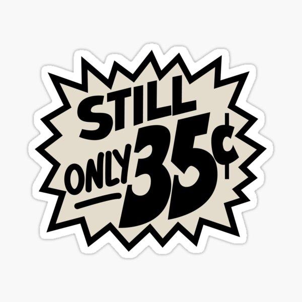 Comic Book Memories: Still Only 35 Cents Sticker