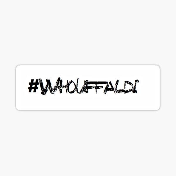 #Whouffaldi Sticker. Sticker