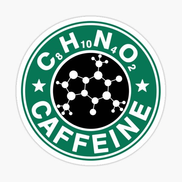 C8H10N4O2-Bucks Logo Sticker