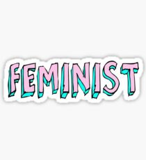 Pegatina feminista