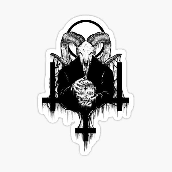 Satanás se adelanta Pegatina