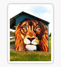 Lion's Head Sticker