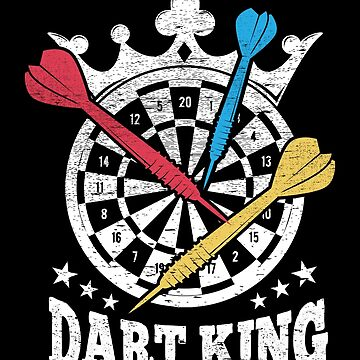 Dart King Darts Player Gift by NiceTeee