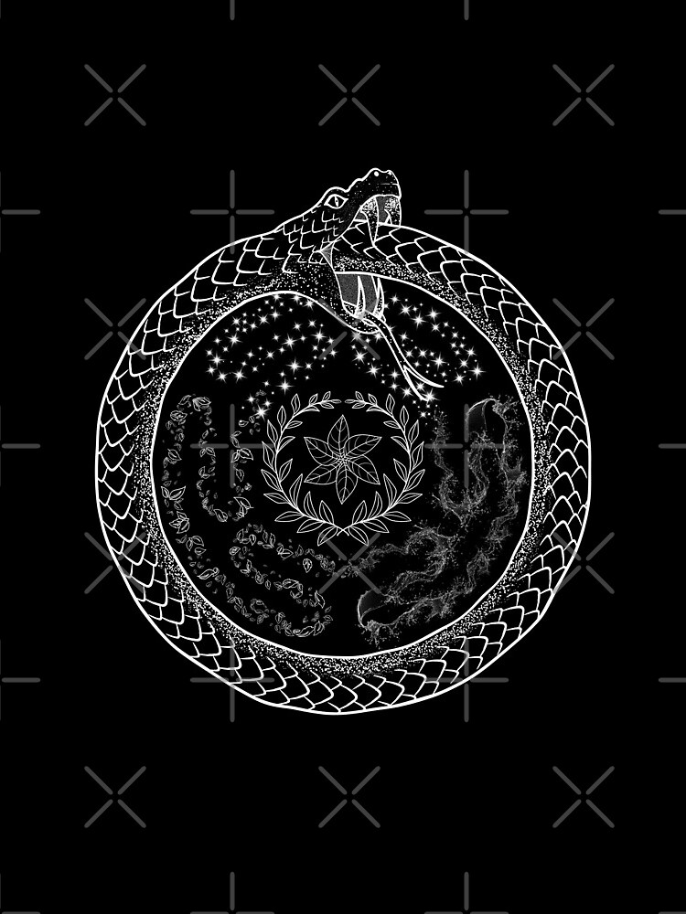 Hekate Wheel Hecate Strophalos Ouroboros Pagan Witch by TheGhoulishGarb
