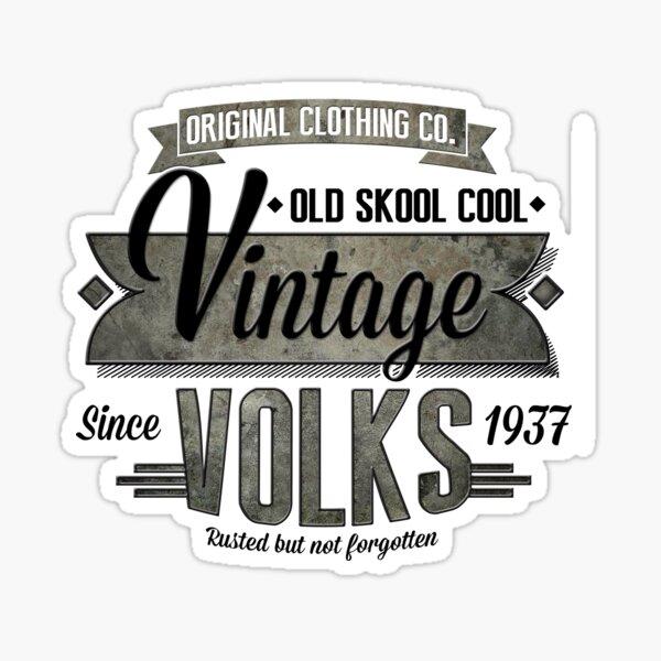 NEW Men's Vintage Car T-Shirt Sticker