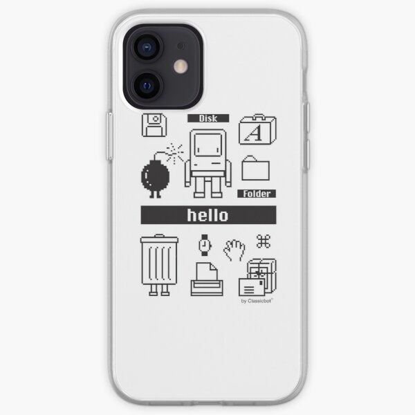 Clasicc Desktop OS Icon by Classicbot iPhone Soft Case