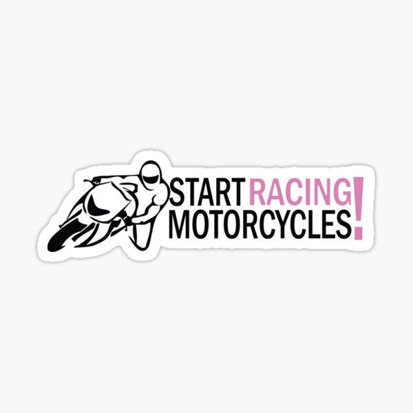Start Racing Motorcycles Sticker